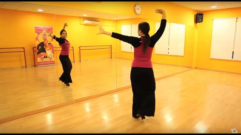 Tutorial para bailar sevillanas la primera y la segunda