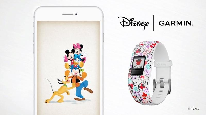 Garmin vívofit jr. 2 Navigating the Disney Minnie Mouse App Adventure and Game