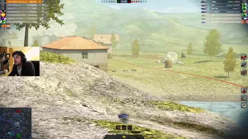 [Glafi.com] WoT Blitz - За что любят быстрые танки. AMX CDC против T49 - World of Tanks Blitz (WoTB)