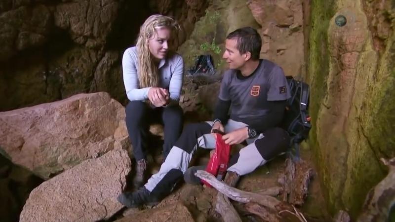 Звездное выживание с Беаром Гриллсом 3 сезон 4 серия Линдси Вонн 2017 0001