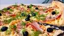 Пицца Обалденный Домашний Рецепт Pizza with Bacon English Subtitles