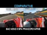 Project CARS Vs Real Life - Bac Mono @ Spa Francorchamps