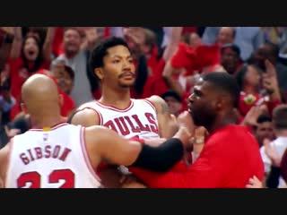 Derrick Rose Game Winner 3 Pointer vs Cavs