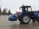 В Уфе прошел городской парад коммунальной техники