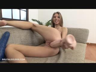 Abby [фистинг, fisting, extreme pussy insertion, gape, solo, big toys, brutal dildo]