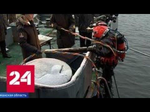 Тренировки специальных водолазных бригад начались в Арктике Россия 24