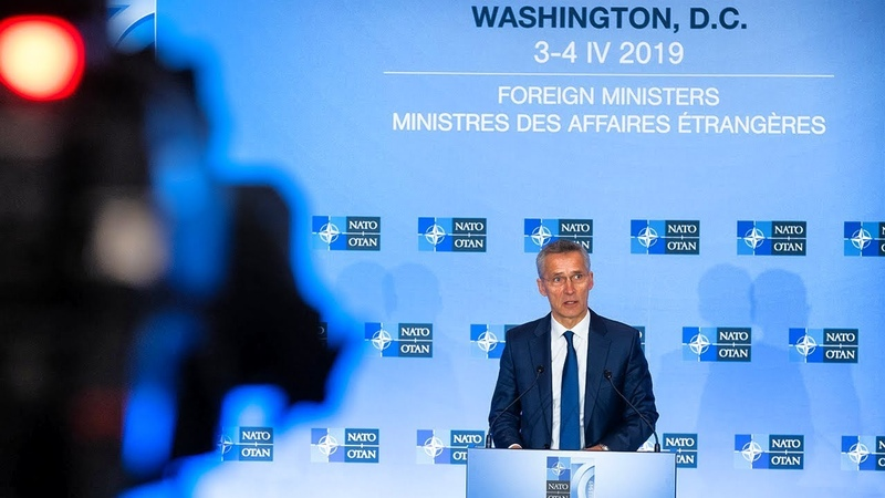 NATO Secretary General press conference at Foreign Ministers Meeting, 04 APR 2019