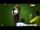 Дани Алвес кинул мяч на лицо Модрича !! Барса 1-2 Реал 2014
