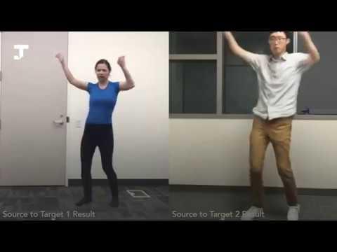 Учёные создали нейросеть, которая заставляет всех танцевать на видео