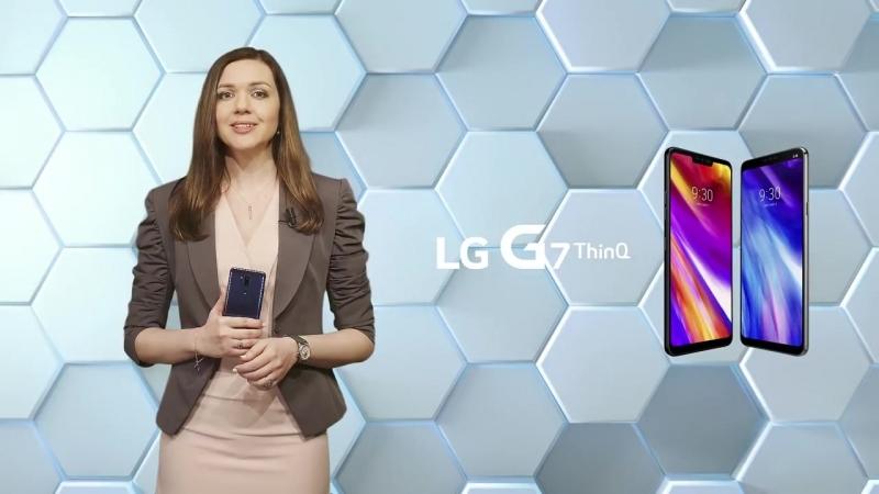 """LG G7 ThinQ Оформи предзаказ на смартфон LG G7 G710 и получи телевизор LG LED 43"""" в подарок!"""