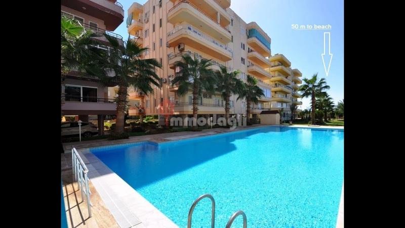 Alanya Strand Wohnung mit Pool Für 39500 EURO