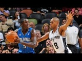 Steal of the Night - Patty Mills Steals the Inbound Pass   October 22, 2013   NBA Preseason 2013