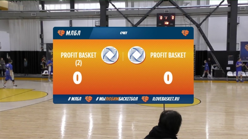 Profit Basket (2) - Profit Basket. 14 тур. Элита. Сезон 18/19