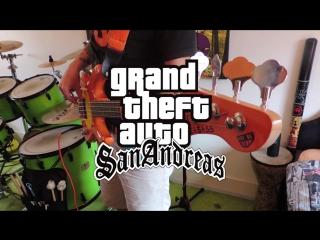 GTA San Andreas Theme Song Cover (All Instruments)/ Музыка из ГТА