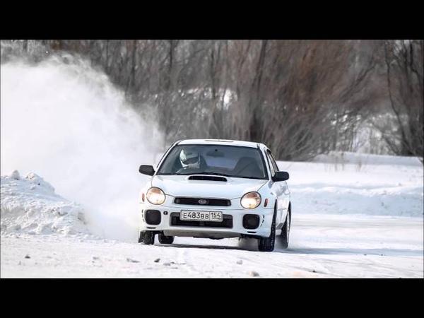 Subaru power-газ до упора, финиш 360° 2016 год