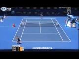 Maria Sharapova vs Karin Knapp Highlights ~ Australian open 2014 R2