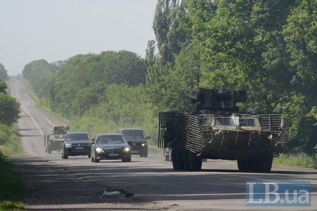 Украинские БТР-4 прошли проверку боем под Славянском: РПГ, пули, осколки мин - Цензор.НЕТ 9971