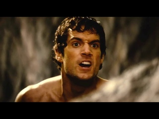Henry cavil action scene : Theseus trying to save mother
