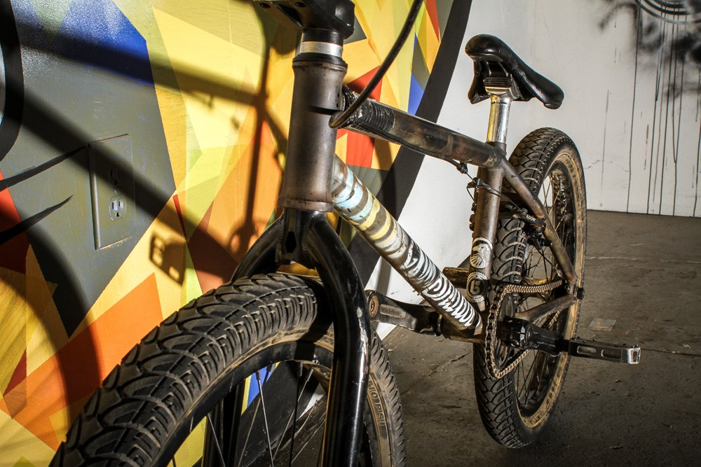 Mariano Santiago bikecheck