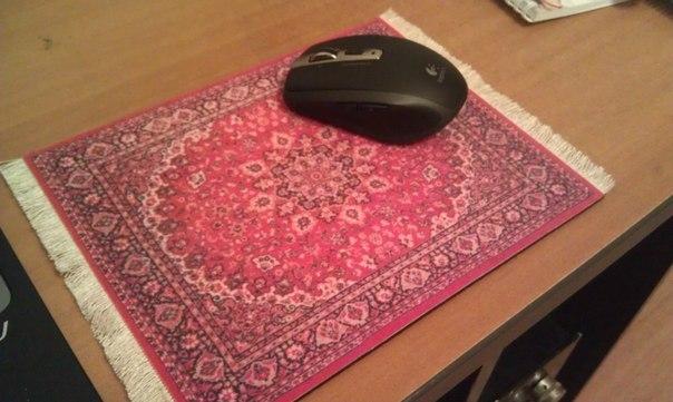 Как сделать коврик для оптической мыши