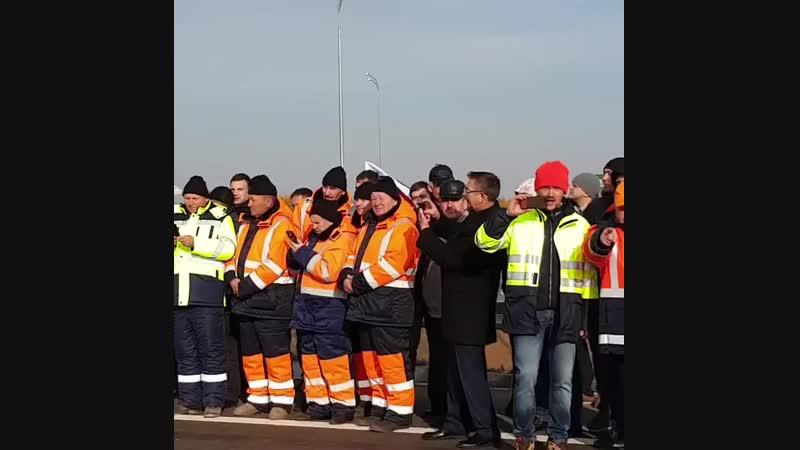 Лучше, чем в Америке!: В Татарстане открыли четырехполосную дорогу от Казани до Набережных Челнов