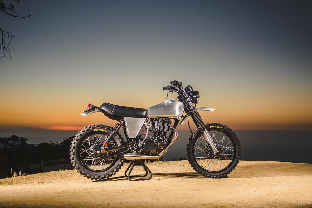 Ride Custom: скрэмблер Yamaha XT500