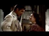 Скарлетт О'Хара и Ретт Батлер. незабываемый фильм : Унесенные ветром. ( Gone with the wind )