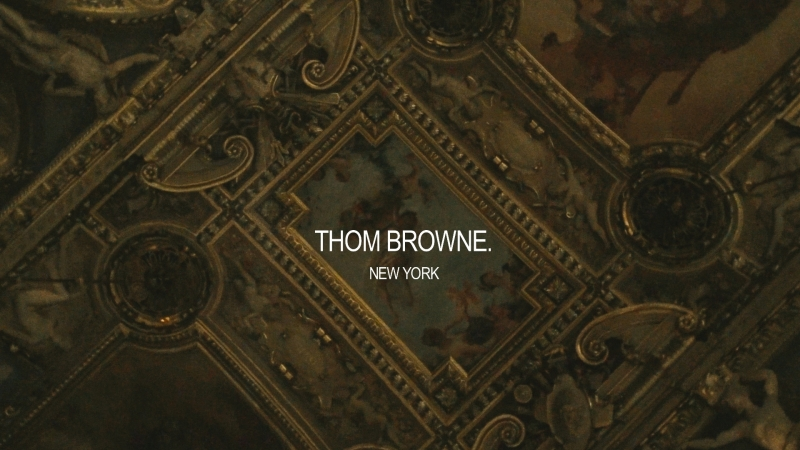 Thom Browne F W18