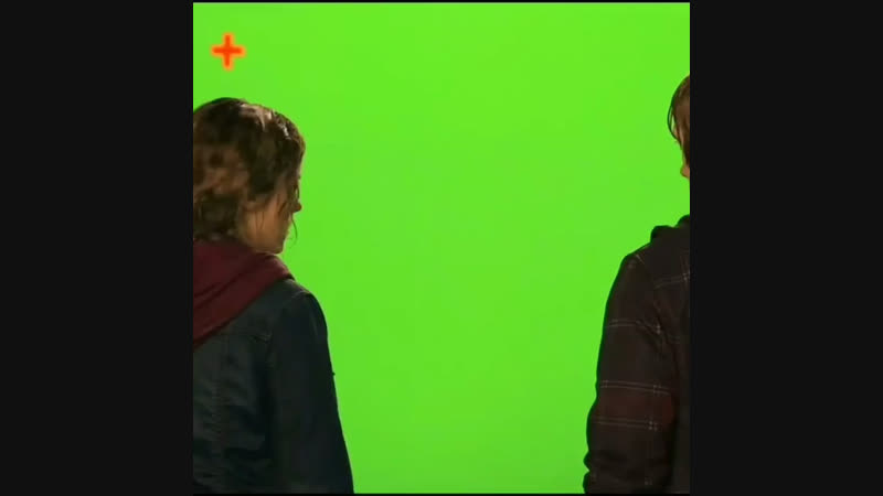 Ron Weasley and Hermione Granger kiss scene