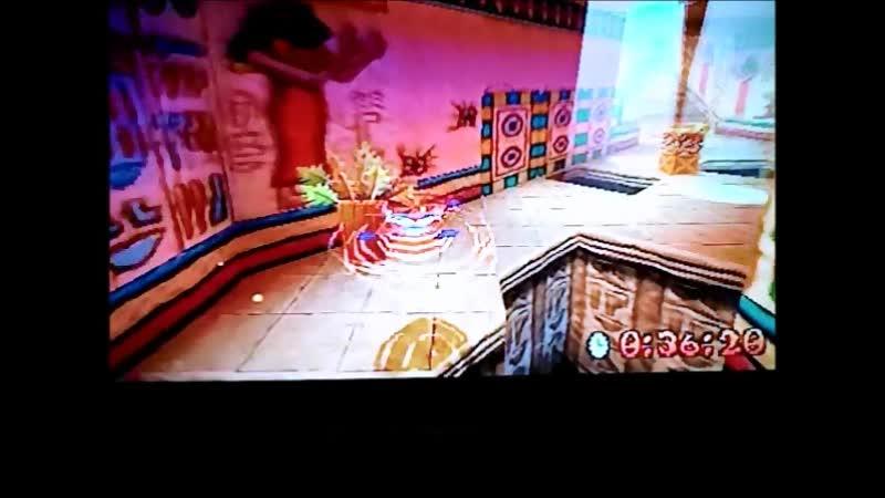Crash Bandicoot 3: Warped (PAL). Time Trial.Tomb Time.50:28. I want 49:xx)
