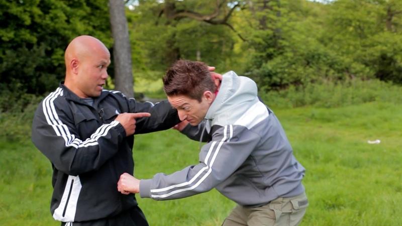 Wing Chun kung fu glossary - fok sao