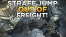 Call of Duty: Ghosts - Strafe Jump Out of Freight! (Out of Map Under The Map)