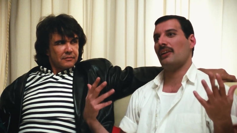 Freddie Mercury Dave Clark 1986 - Time musical - interview