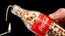 AWESOME TRICK WITH MATCHES AND COCA COLA