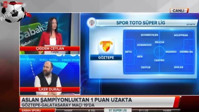 Galatasaray Sabah Sporu - Aslan Şampiyonluk Maçına Çıkıyor 19 Mayıs 2018