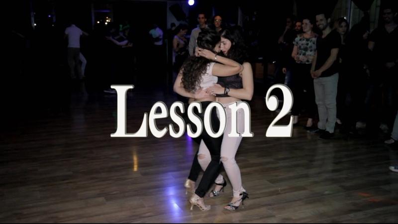 Lidar and Hadar Bachata Lesson 2 Stay
