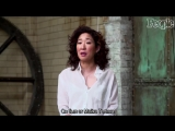 Sandra Oh Reveals The 'Greys Anatomy' Prop She Stole, Her Co-Star Crush &amp More In Q&ampA _ PeopleTV RUS SUB