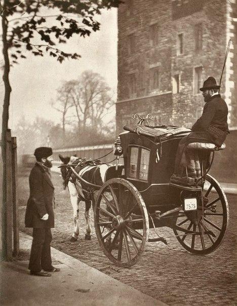 Уличная жизнь Лондона в конце 19 века