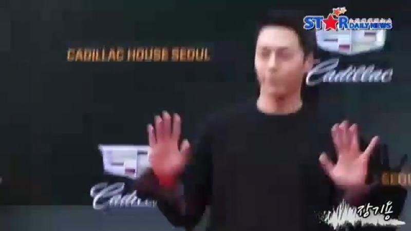 Чан Ки Ён на мероприятие 'Cadillac House Seoul Open', 20 августа 2018 года