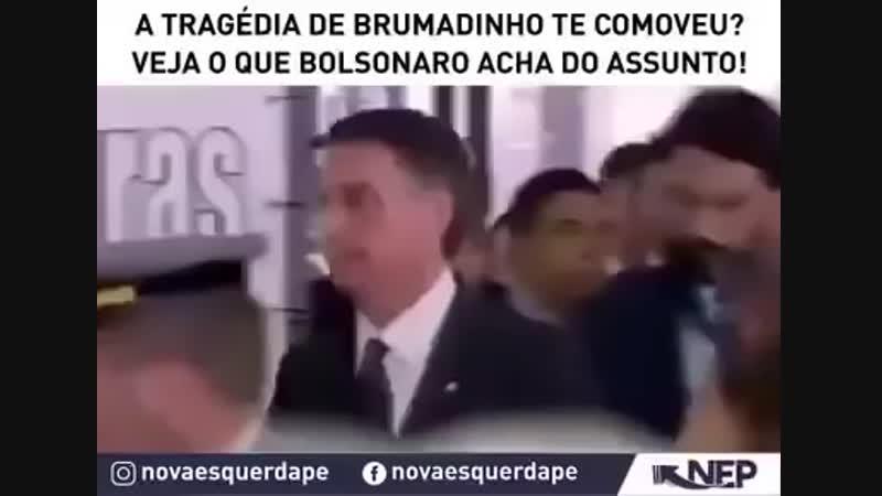 Bolsonaro faz criticas ao IBAMA e defende