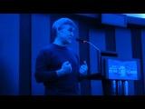 Владимир Сурдин на фестивале полнокупольных программ для планетариев. 22 октября 2013 года. Короткое предисловие перед лекцией о телескопах в Ярославском планетарии.