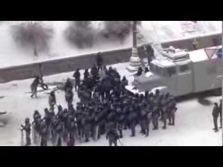 Новое видео издевательств беркута над голым казаком Михаилом Гаврилюком