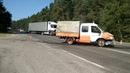 Под Гродно автомобиль дорожных работ не пропустил Фольксваген Поло
