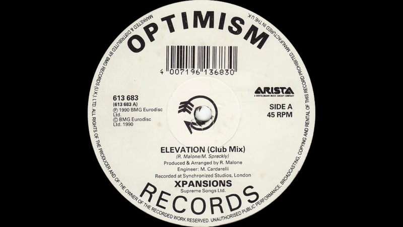 Xpansions - Move Your Body (Elevation) Club Mix (Arista Records 1990)