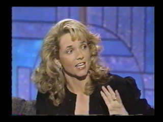 Lea Thompson interview 1990 (Arsenio Hall Show)