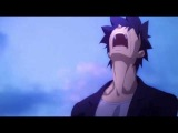 Emiya Kiritsugu Yelling on a Boat