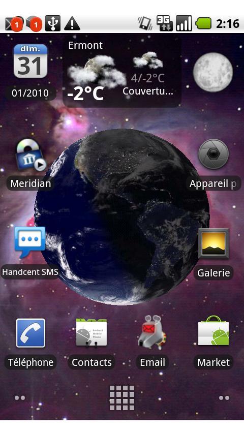 EarthRot для Андроид