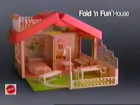 Barbie Fold n Fun House Ad (1992)