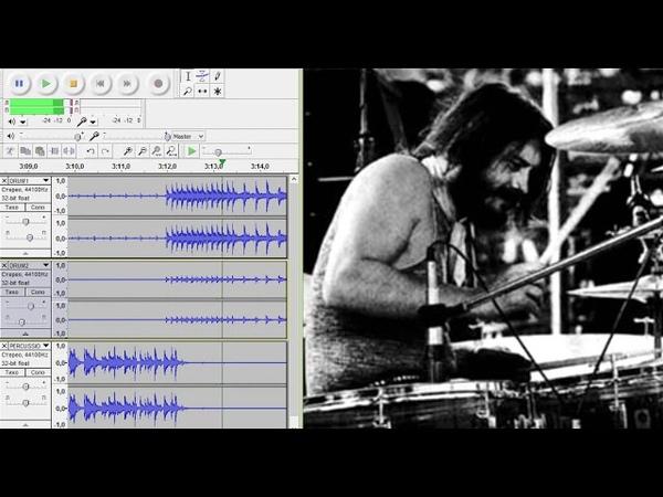 Led Zeppelin - Whole Lotta Love - original John Bonham drum track (drums only)
