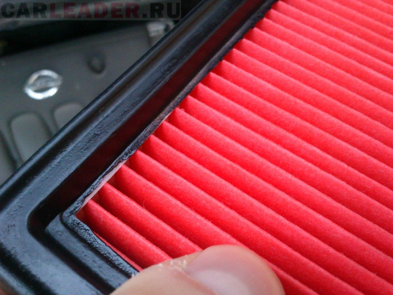 Воздушный фильтр оригинальный для Nissan Bluebird Axis